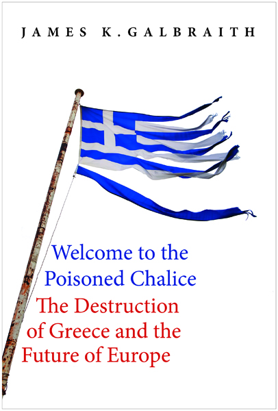 Welcome to the poisoned chalice (book cover)