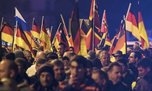 German nationalism on the rise