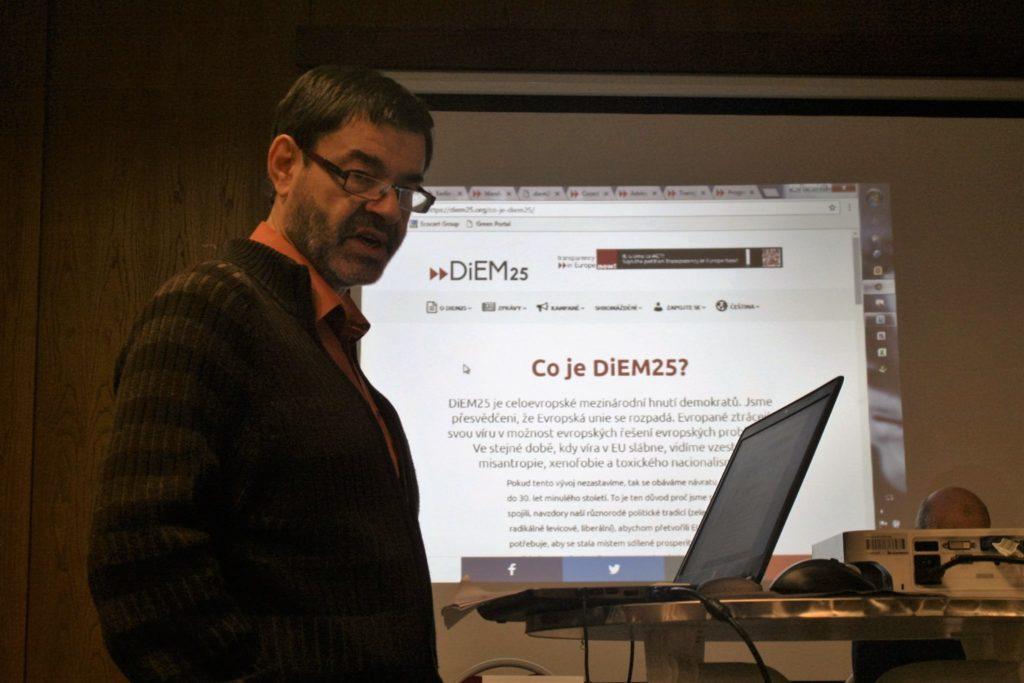 Antonin Horcica, coordinador del DSC Bohemia Meridional.