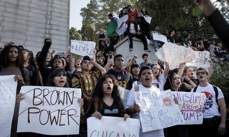 Berkeley Trump Protests