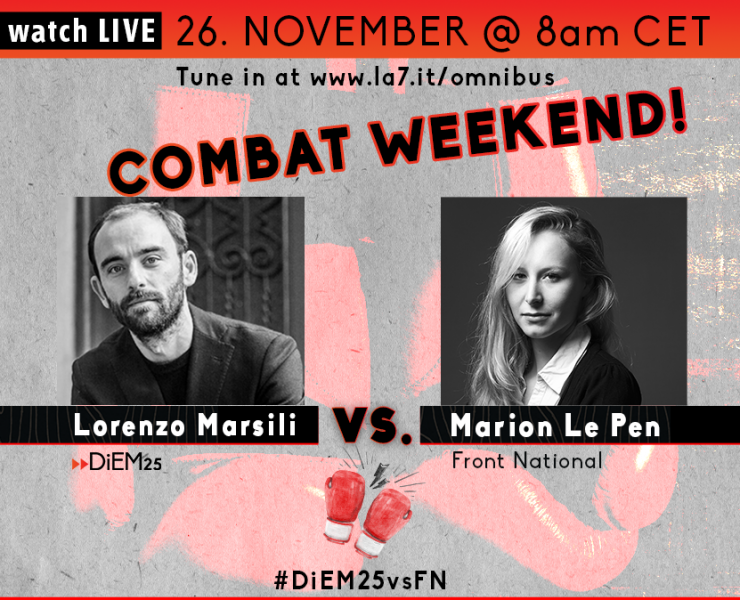Lorenzo Marsili vs Marion Le Pen