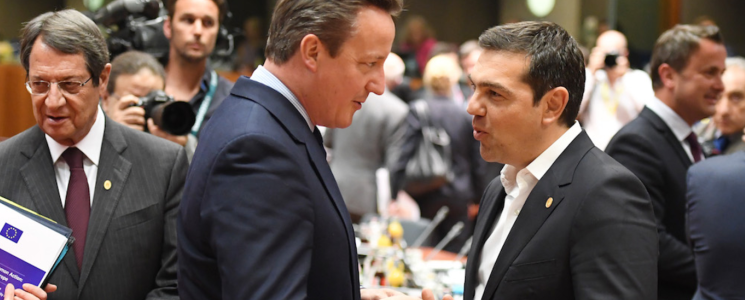David Cameron and Alexis Tsipras