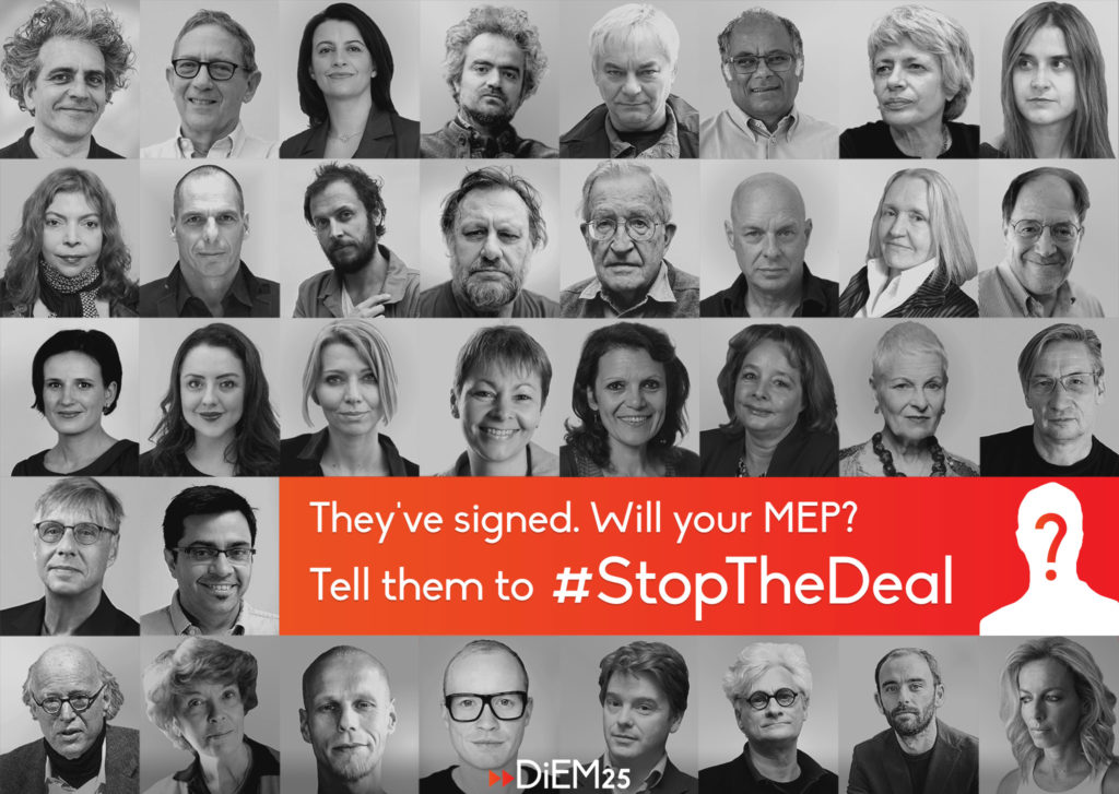 #StopTheDeal