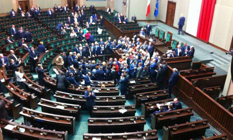 Polish Parliament Occupation