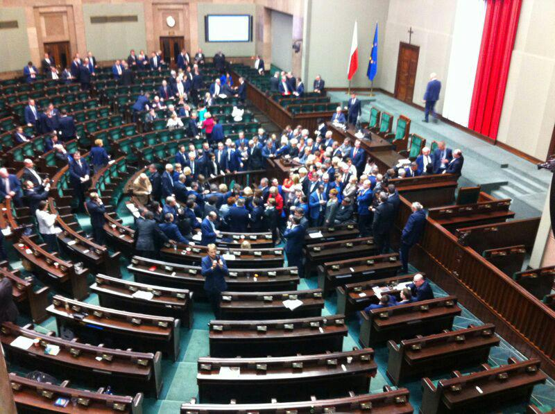 Polish Parliament Occupation