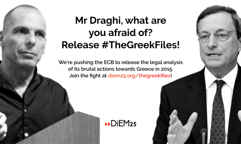 #TheGreekFiles Campaign