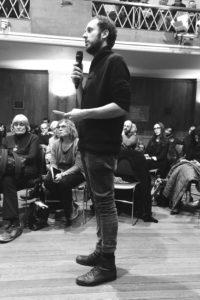 Srećko Horvat, miembro del Colectivo Coordinador de DiEM25