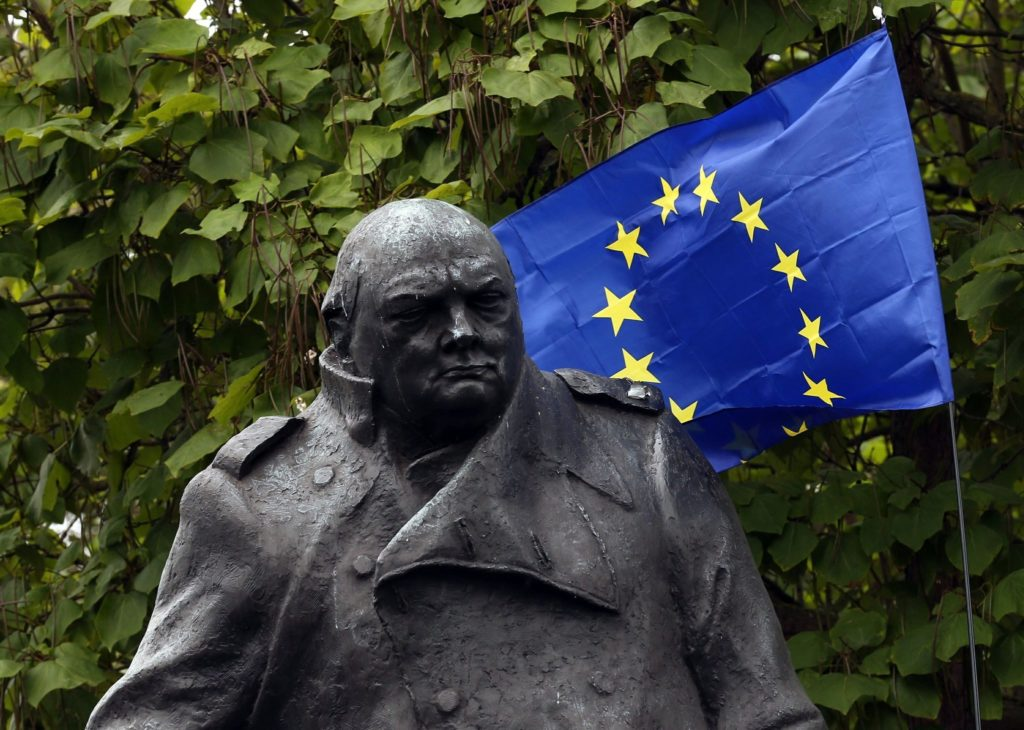 Churchill slated to REMAIN in Parliament Square.