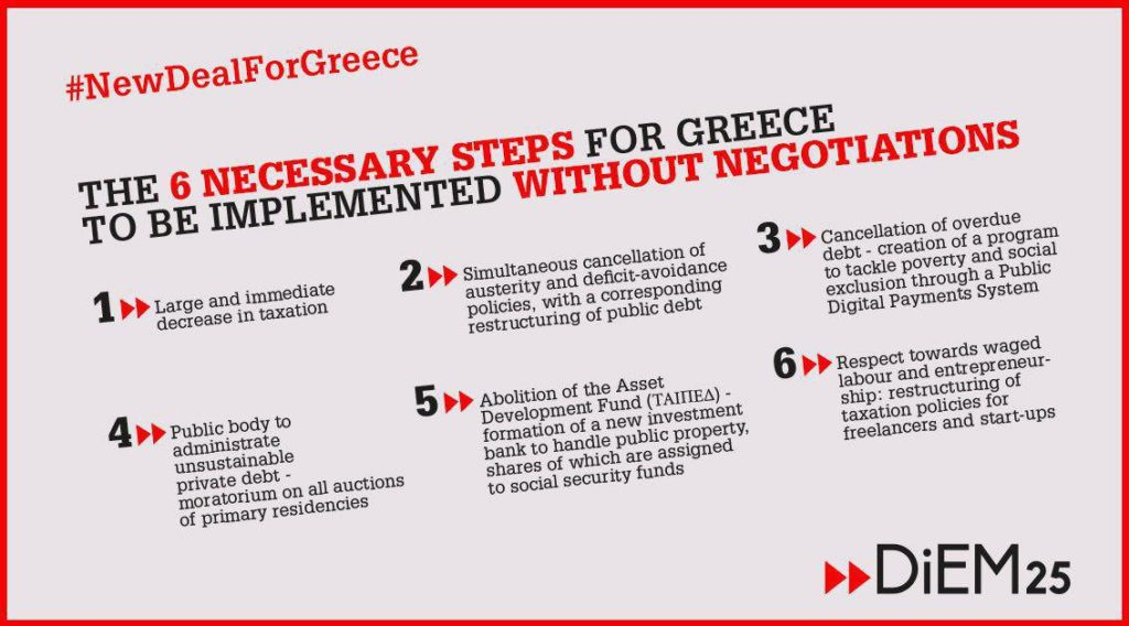 New Deal For Greece