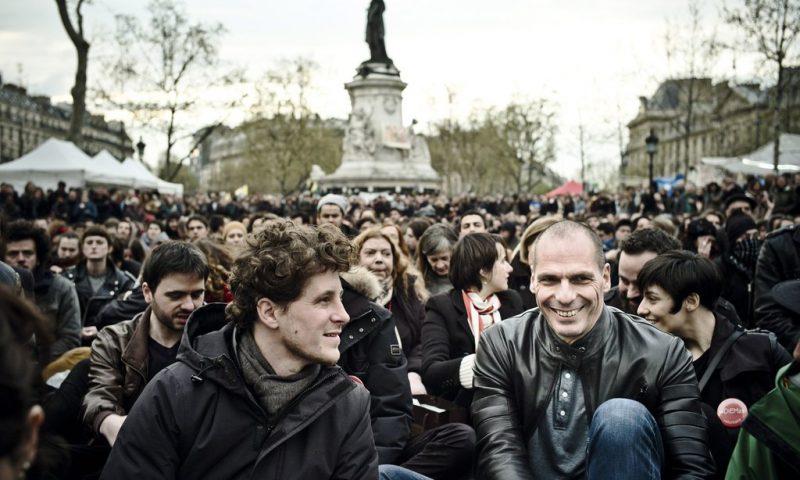 Yanis Varoufakis at Nuit Debout