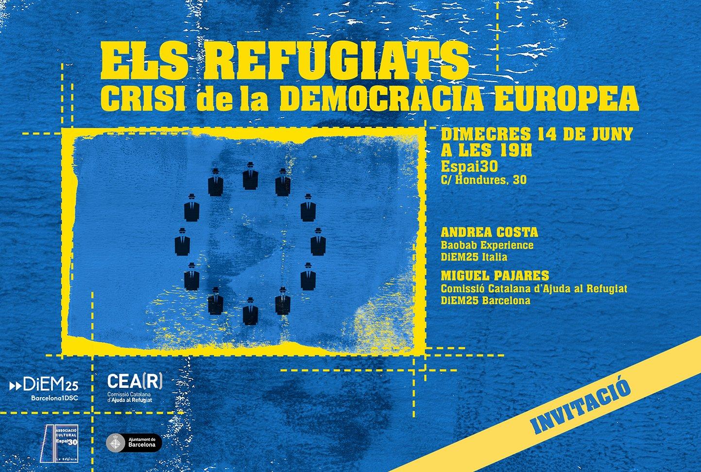 """""""Los refugiados: crisis de la democrácia europea"""""""