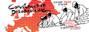 DiEM25@G20: Constructive Disobedience!  Resistance in the Age of Surveillance Capitalism @ Audimax, Universität Hamburg | Hamburg | Hamburg | Germany