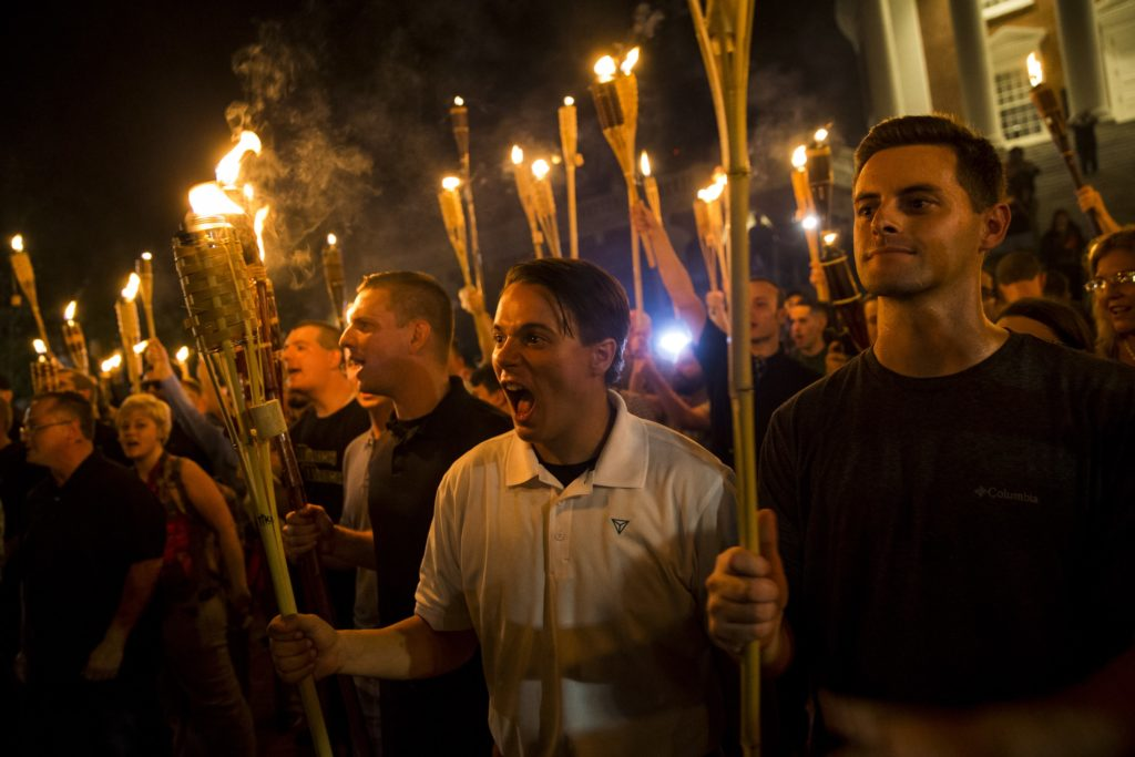 White supremacist terror in Charlottesville