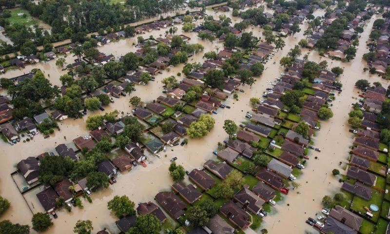 Residential neighborhoods in Houston