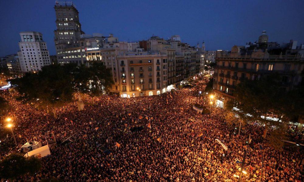 Barcelona Protests - 21/09/2017