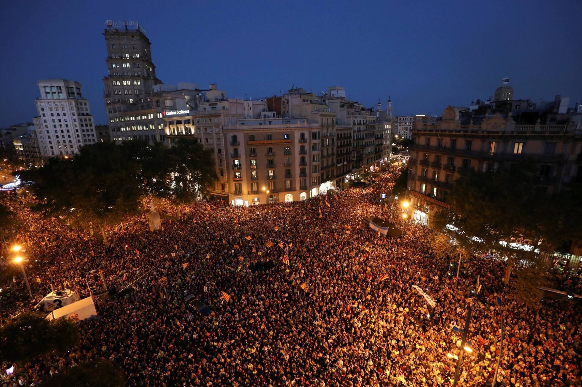Barcelona Protests - 21/09/2017