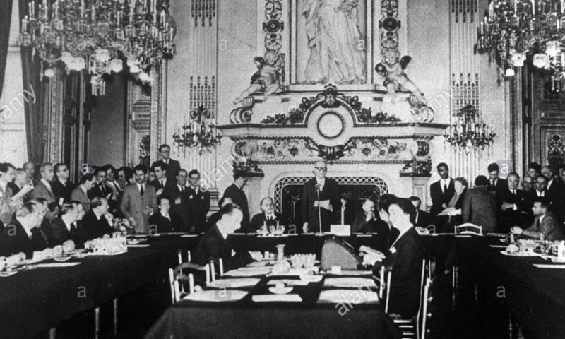 French Foreign Minister Robert Schuman announces the plan to found the European Coal and Steel Community