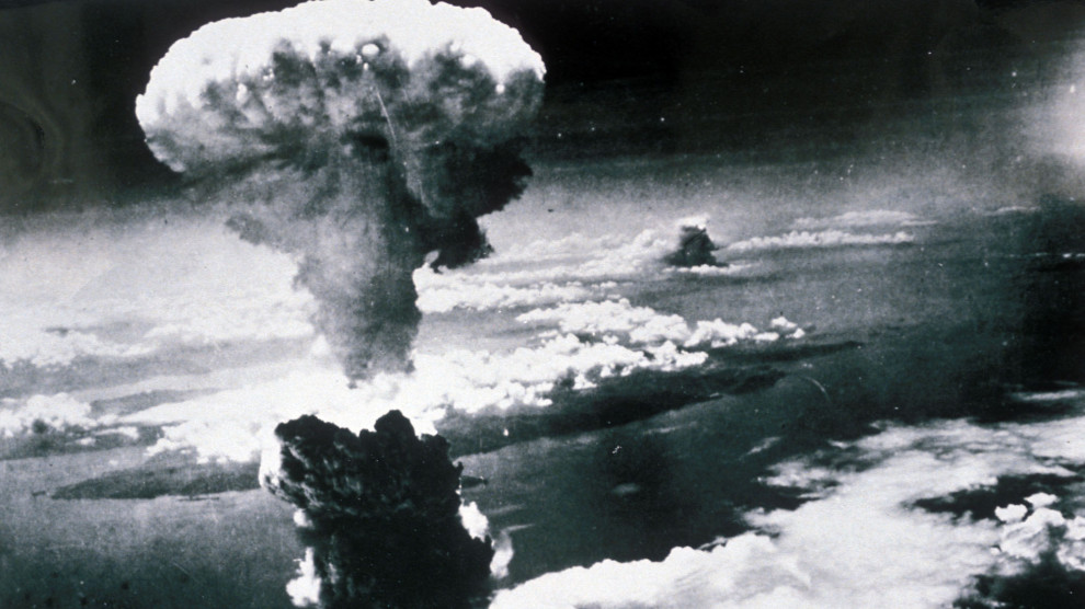 the horrors caused by the atomic bomb