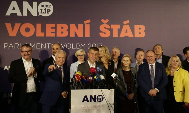 Czech Republic shifts to the right