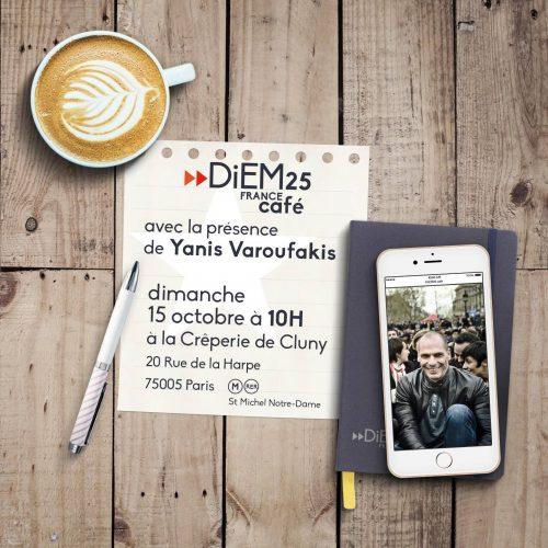 DiEM25 - France Café