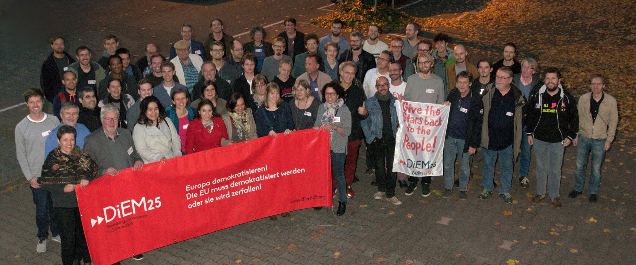 Germany-wide meeting in Frankfurt