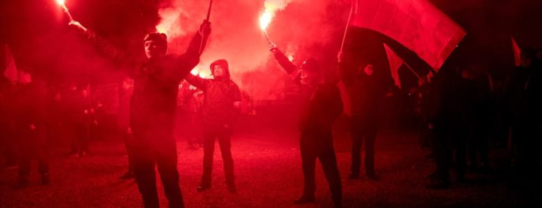Fascists marching in Warsaw: another sign of Europe's growing far-right problem