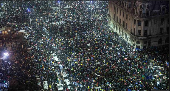 Romania - protests