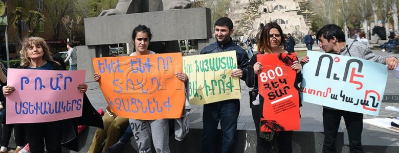 Armenia's youth take to the streets to defend their future