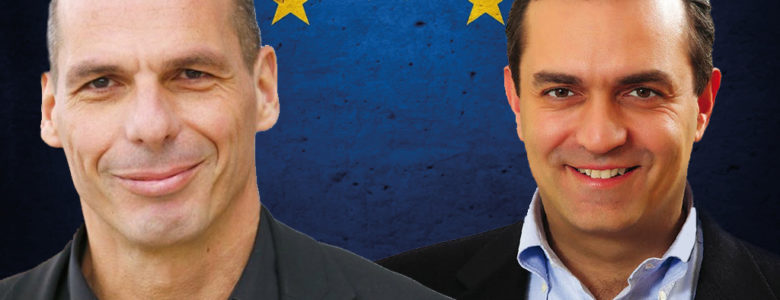 Yanis Varoufakis and Luigi de Magistris