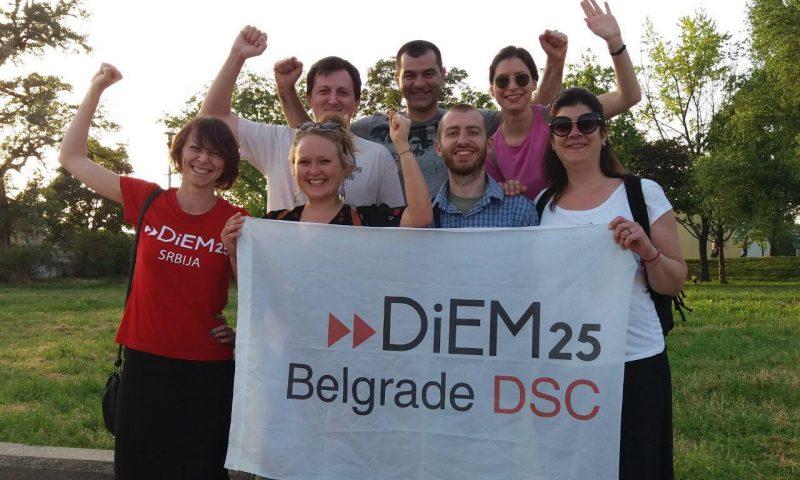 1st of May in Belgrade