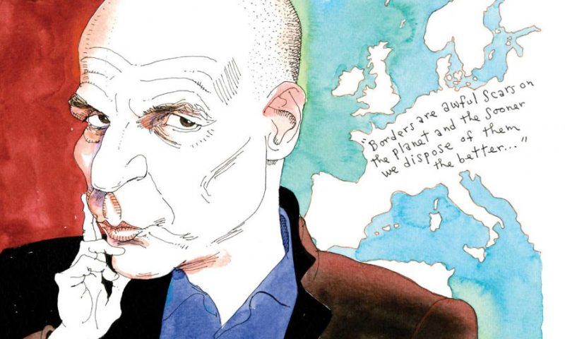 Yanis Varoufakis - Illustration by Joe Ciardiello