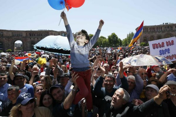 The Armenian Revolution succeeds!