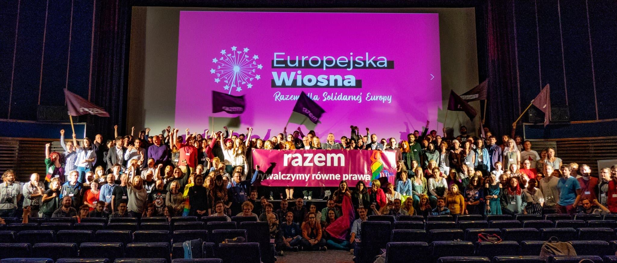 Primavera Europea aterriza en Varsovia
