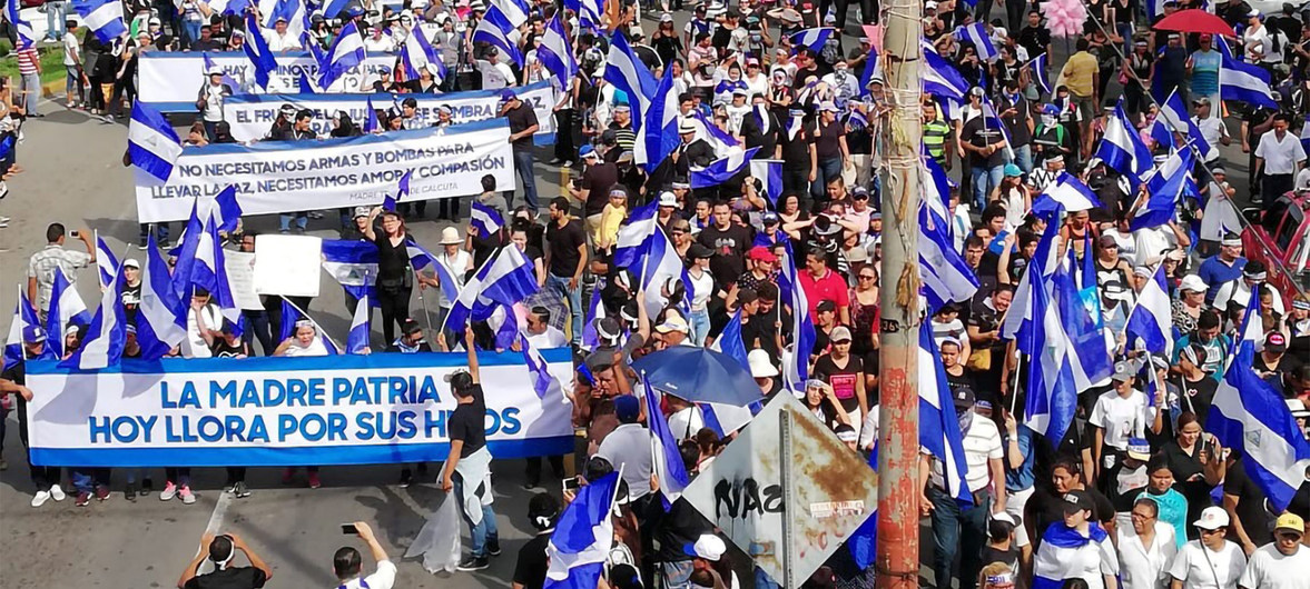 The international community must condemn the actions of the Nicaraguan government