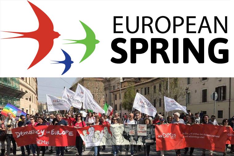 Elezioni 2019: DiEM25 e Primavera Europea