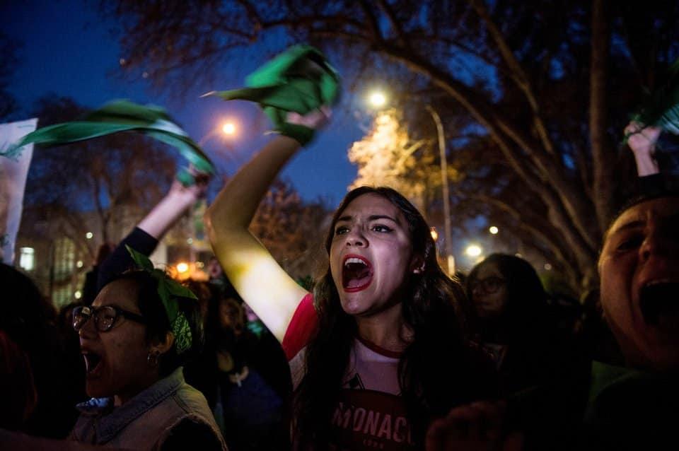 Αλληλεγγύη στις γυναίκες της Αργεντινής: Ούτε βήμα πίσω για την νομιμοποίηση των αμβλώσεων!