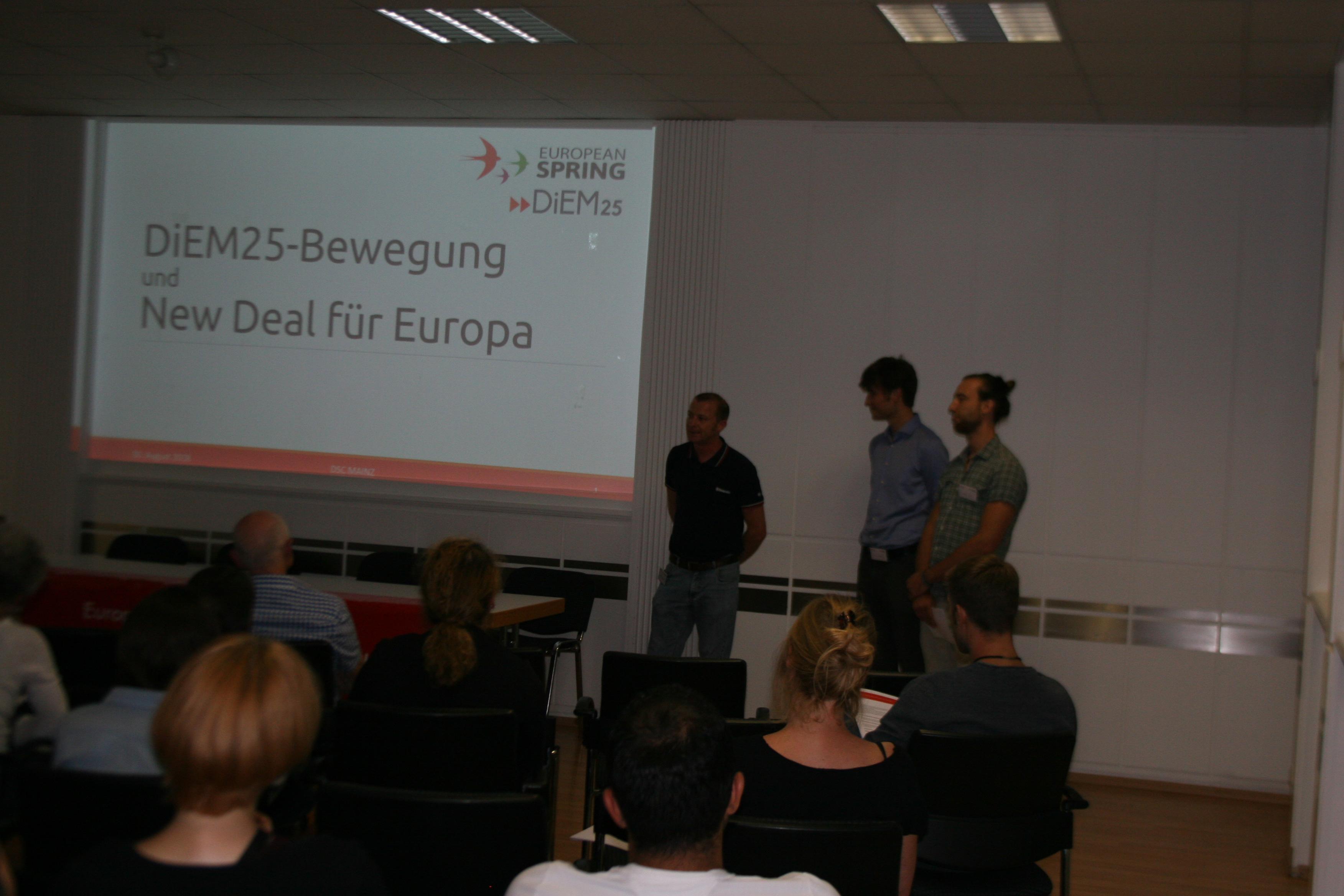 DiEM25-Mainz startet Veranstaltungsreihe