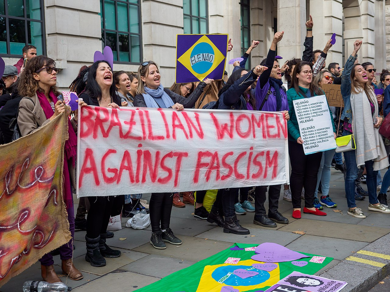 A statement of Solidarity with the people of Brazil