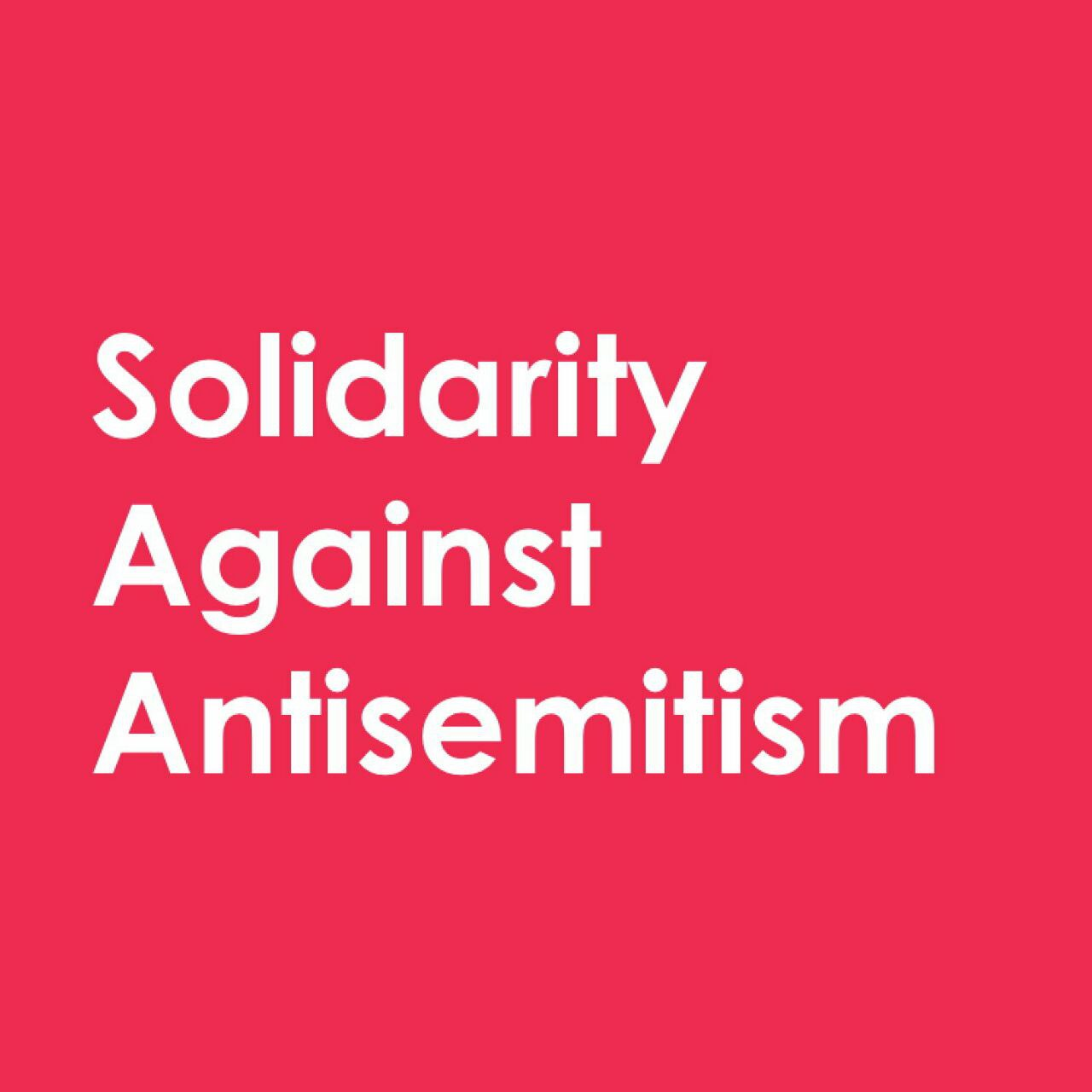 Statement of solidarity with American Jews and Jewish people across the world