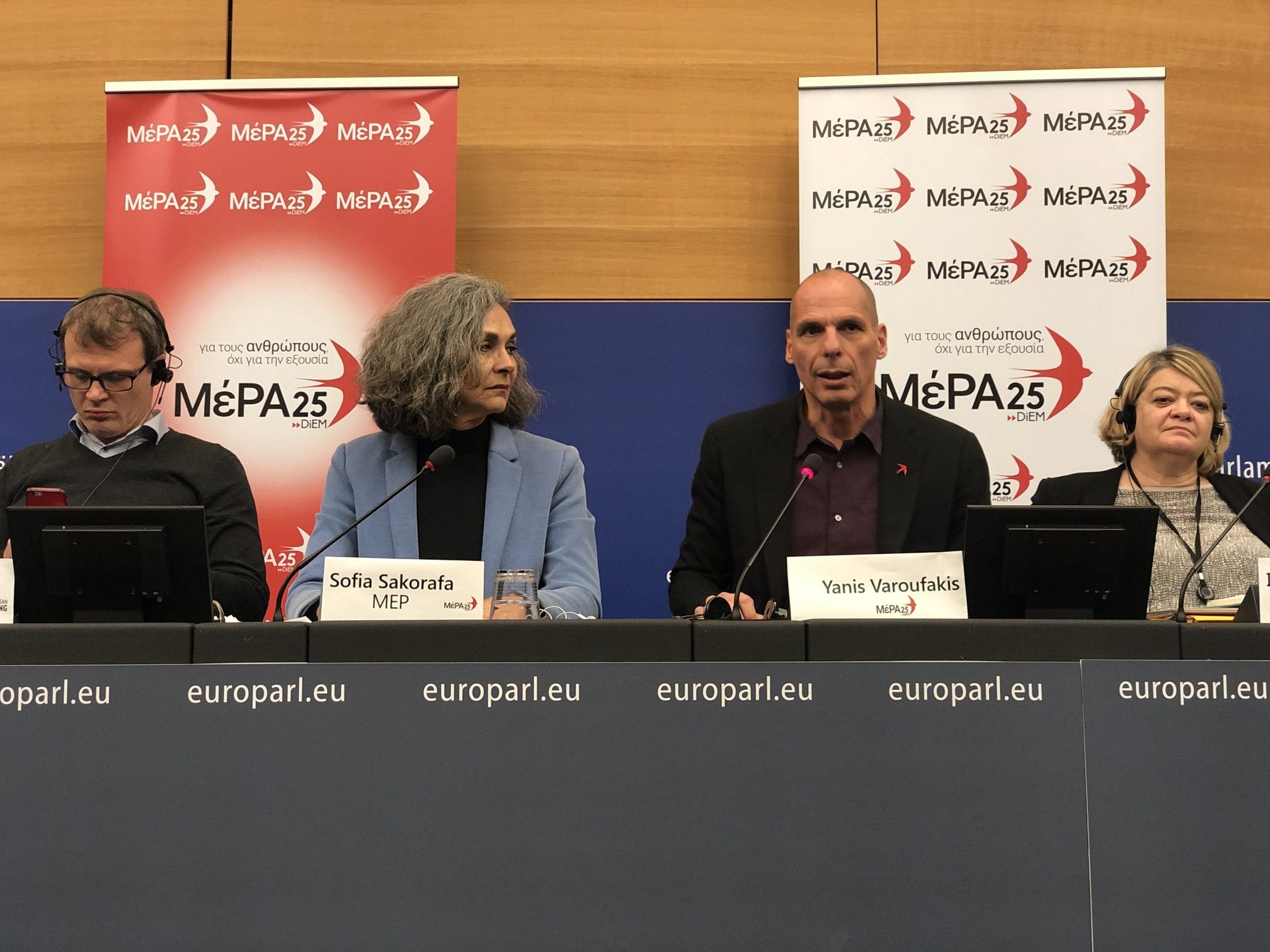 MEP Candidate and MeRA25 leader Yanis Varoufakis unveils political programme for Greece and Europe ahead of elections