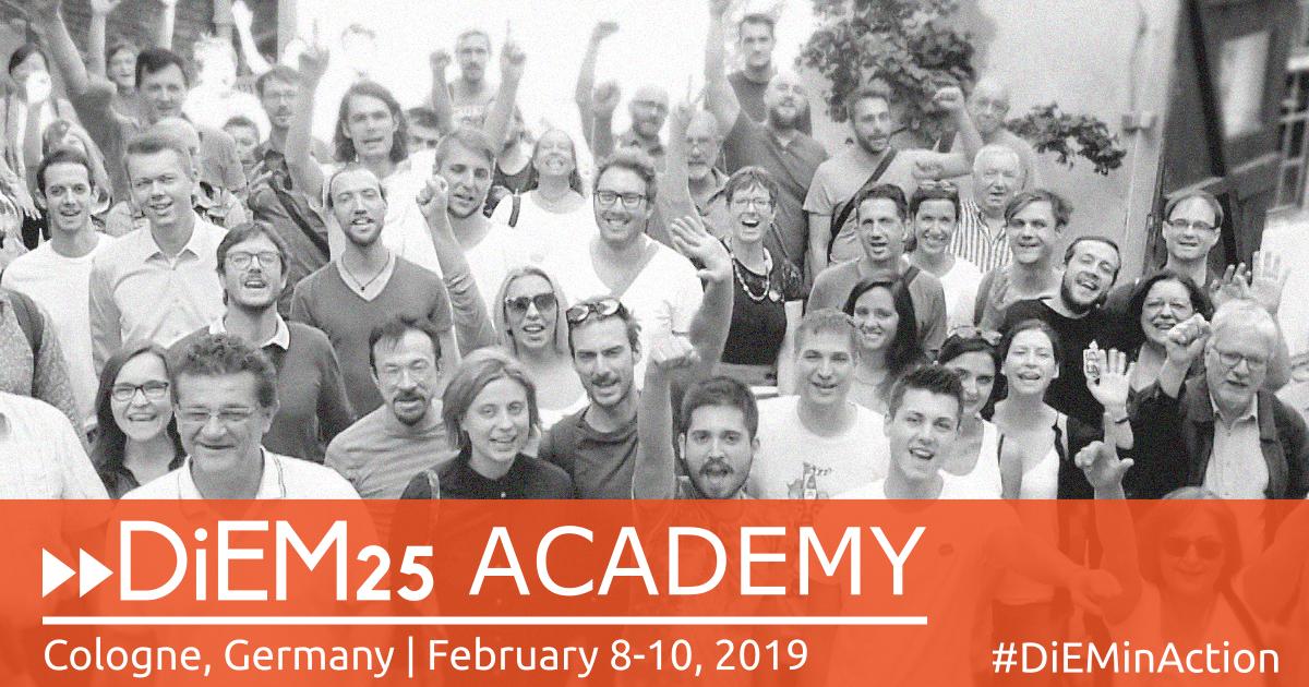DiEM25 Academy in Köln [Presserklärung]