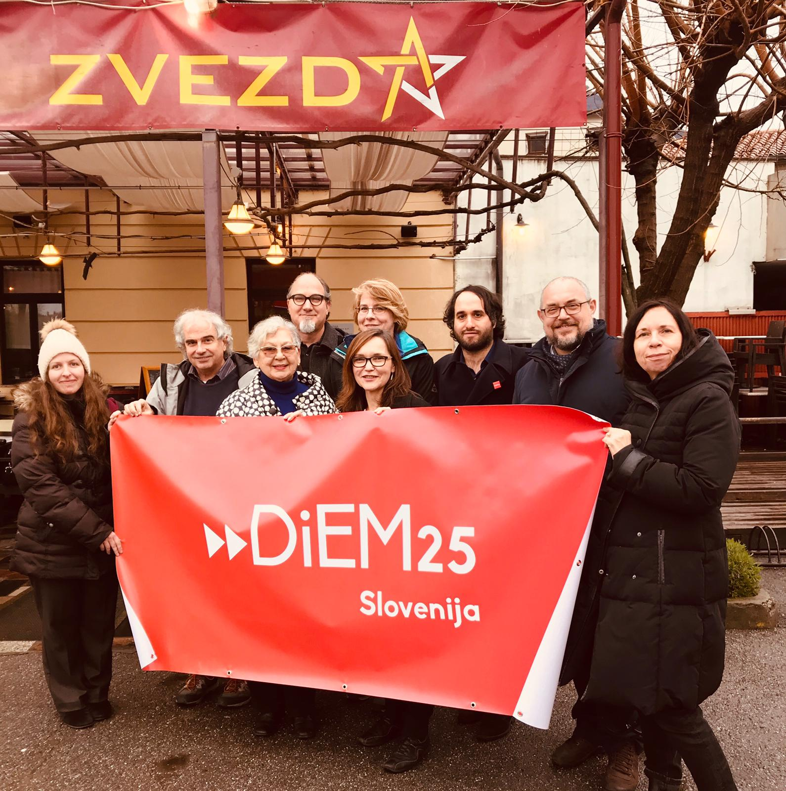 Campaign for Europe in Slovenia