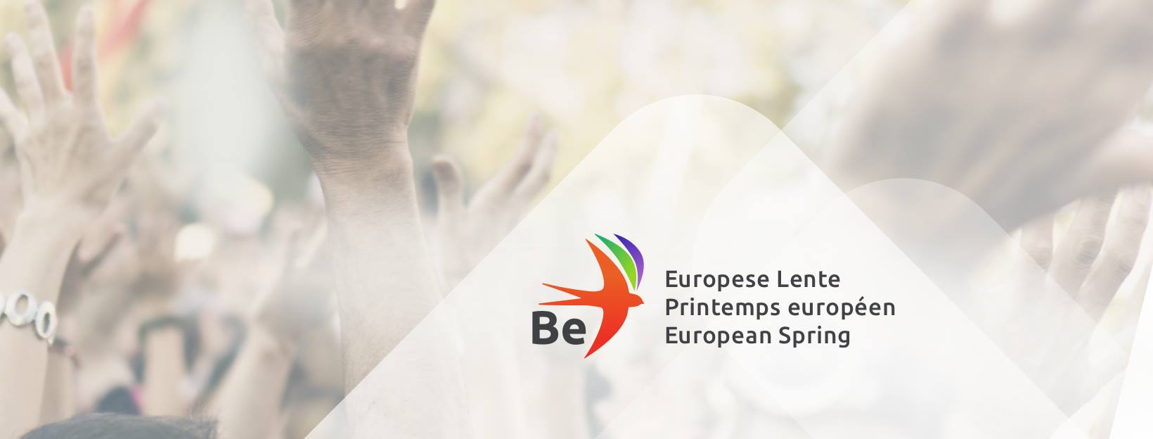 """Laurent de Sutter and Rosita Allinckx to lead Belgium's """"Be European Spring"""" candidates' lists to the European Parliament elections"""
