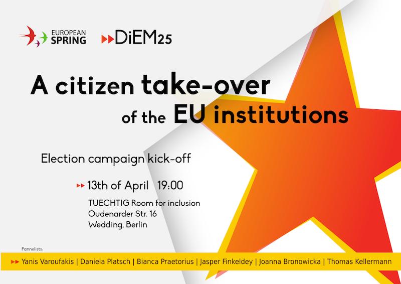 Bürger*innen übernehmen die EU-Institutionen!