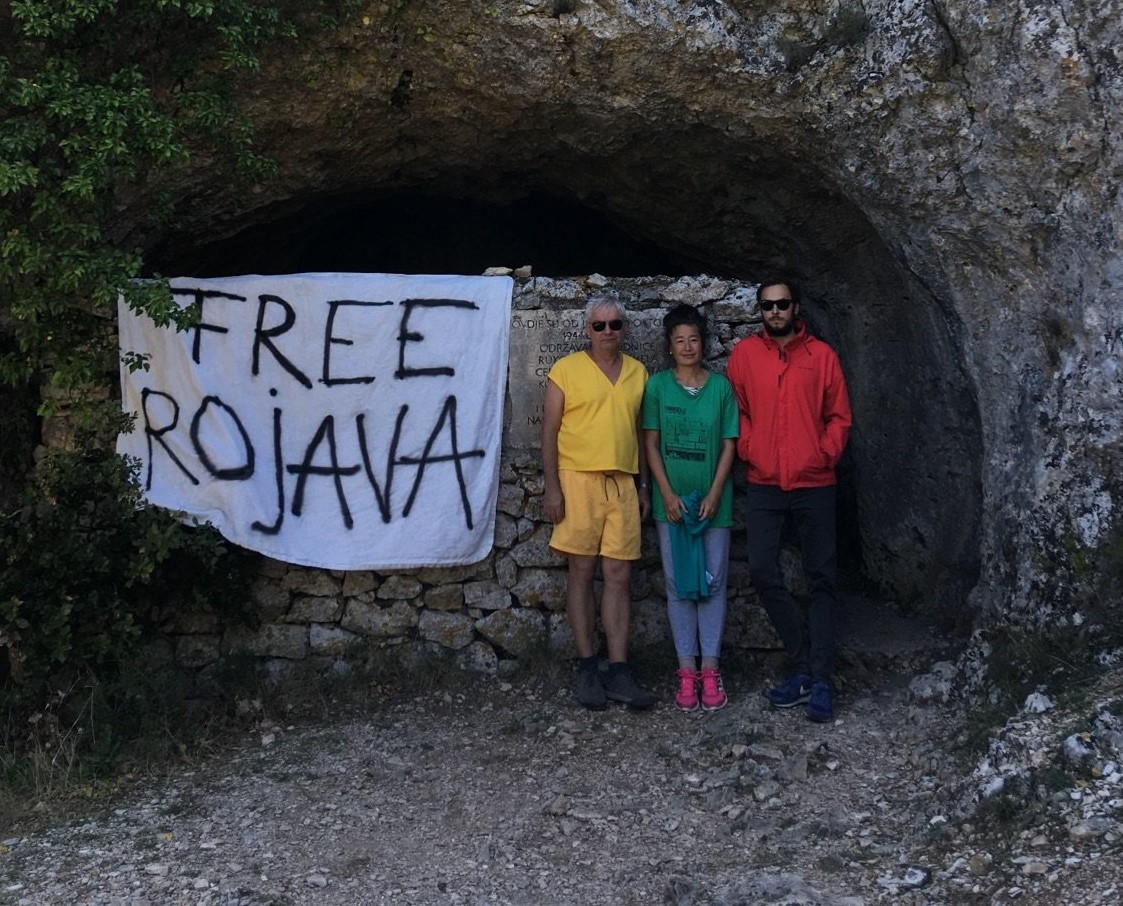 NO FRIENDS BUT THE MOUNTAINS – solidarity with Rojava