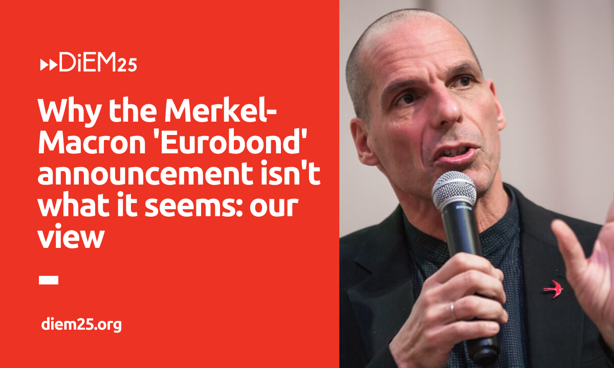 Have Merkel & Macron just announced a eurobond-funded godsend for the EU?