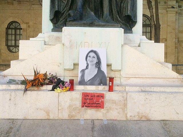 Daphne Caruana Galizia Monument