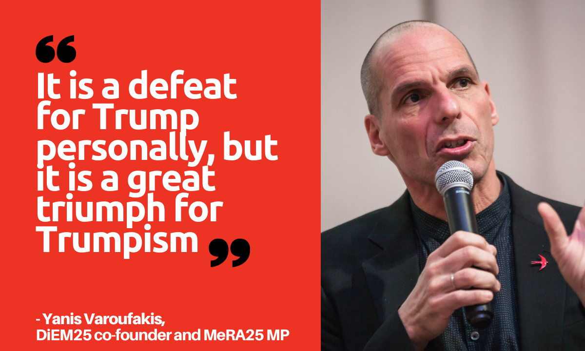 Yanis Varoufakis on Trumpism, European fiscal discipline and the US-China Cold War - DiEM25